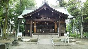 2021年6月13日 朝の富士森公園浅間神社です
