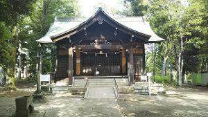 2021年6月22日 朝の富士森公園の浅間神社です