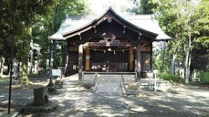 2021年6月11日 朝の富士森公園浅間神社です