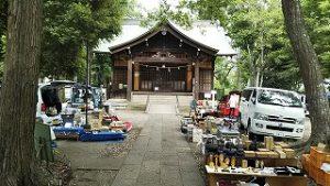 2021年6月12日 朝の富士森公園浅間神社です