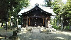 2021年7月24日朝の富士森公園の浅間神社です