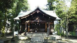 2021年7月12日朝の富士森公園の浅間神社です