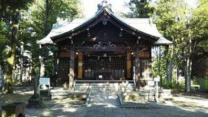 2021年7月23日朝の富士森公園の浅間神社です