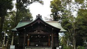 2021年9月28日朝の富士森公園の浅間神社です